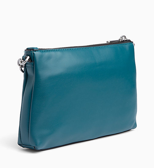 CALVINKLEIN Cross Body Bag - ARMOUR GREEN -  CROSSOVER BAGS - detail image 1