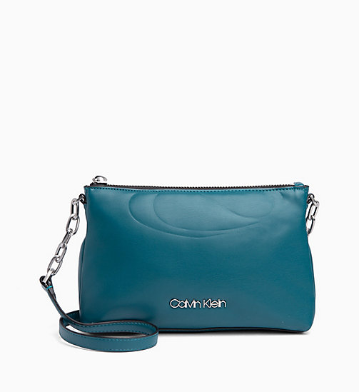CALVINKLEIN Cross Body Bag - ARMOUR GREEN -  CROSSOVER BAGS - main image