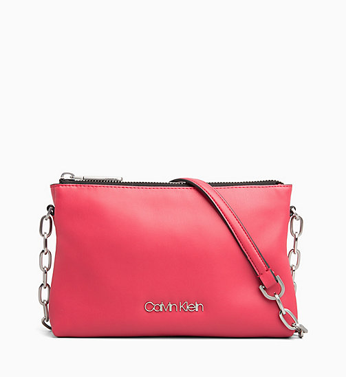 CALVINKLEIN Cross Body Bag - ROSE QUARTZ - CALVIN KLEIN NEW IN - main image