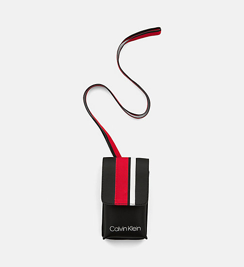 CALVINKLEIN Festival Pouch - BLACK - CALVIN KLEIN CROSSOVER BAGS - main image