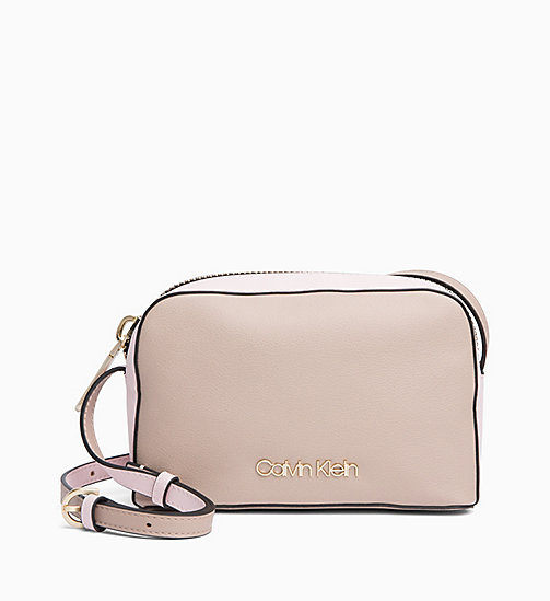 CALVINKLEIN Cross Body Bag - TOBACCO/PETAL - CALVIN KLEIN NEW IN - main image