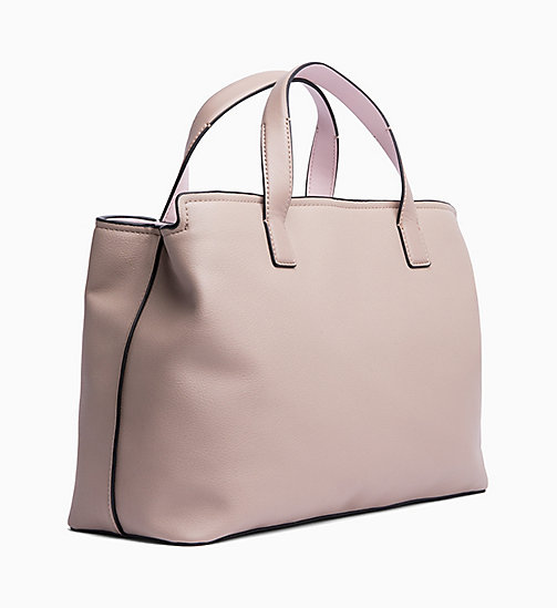 CALVINKLEIN Medium Tote Bag - TOBACCO/PETAL - CALVIN KLEIN NEW IN - detail image 1
