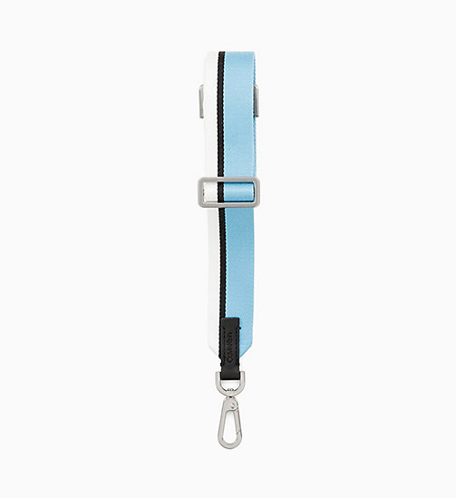 CALVIN KLEIN Shoulder Strap - FADED BLUE/BLACK/OFF WHITE - CALVIN KLEIN WOMEN - detail image 1