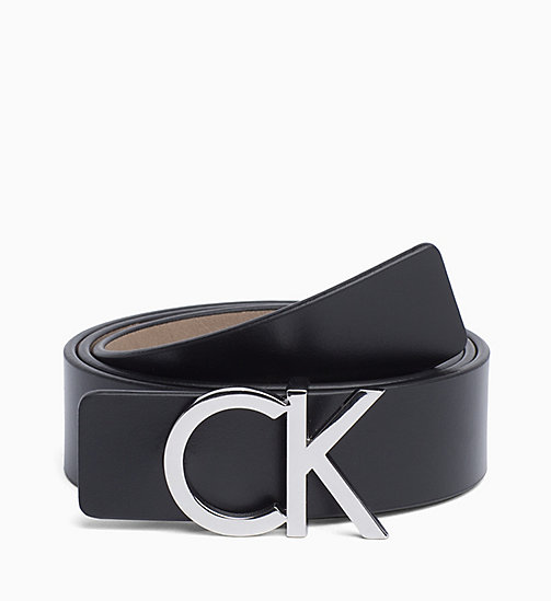 CALVINKLEIN Reversible Leather Belt Gift Box - BLACK/TOBACCO - CALVIN KLEIN PERFUMES & ACCESSORIES - main image