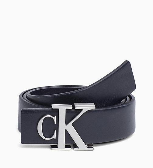 ... 9c3af 93623 CALVIN KLEIN JEANS CK Logo Belt - DARK NAVY - CALVIN KLEIN  JEANS PERFUMES ... 10f24a82ee