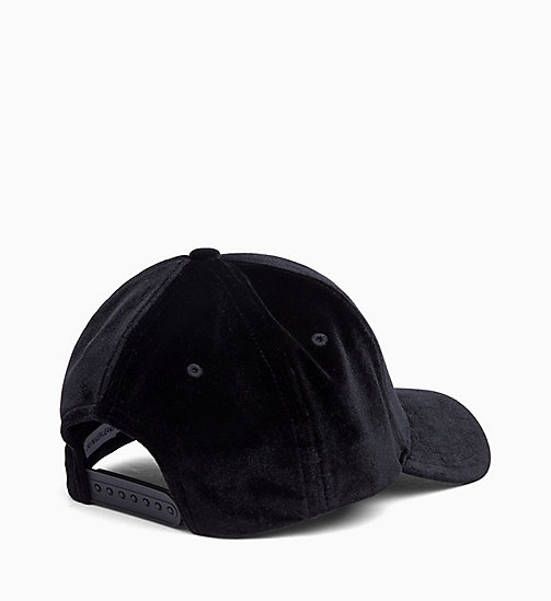 CALVIN KLEIN JEANS Velvet Cap - BLACK BEAUTY - CALVIN KLEIN JEANS IN THE THICK OF IT FOR HER - detail image 1