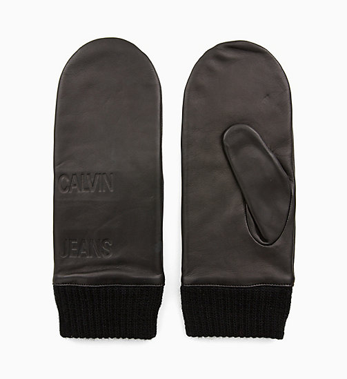 CALVIN KLEIN JEANS Mittens - BLACK BEAUTY - CALVIN KLEIN JEANS NEW IN - main image