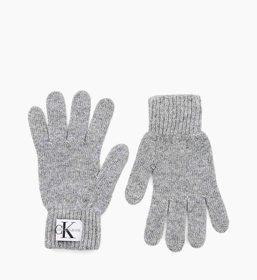 CALVIN KLEIN JEANS Wool Blend Gloves - PARACHUTE PURPLE - CALVIN KLEIN JEANS WOMEN - main image