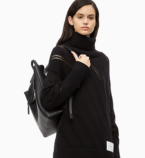 CALVIN KLEIN Backpack - BLACK - CALVIN KLEIN NEW IN - detail image 1