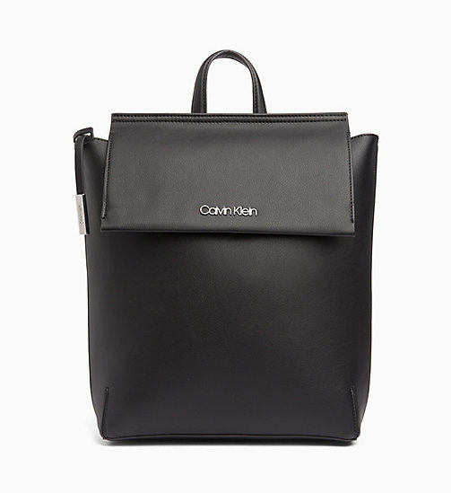 CALVIN KLEIN Backpack - BLACK - CALVIN KLEIN NEW IN - main image