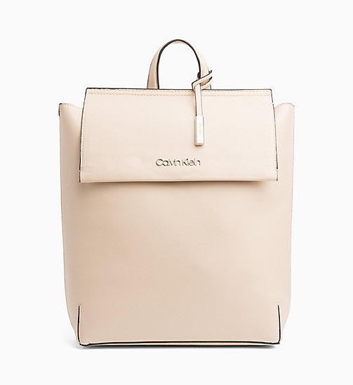 CALVIN KLEIN Backpack - LIGHT SAND - CALVIN KLEIN NEW IN - main image