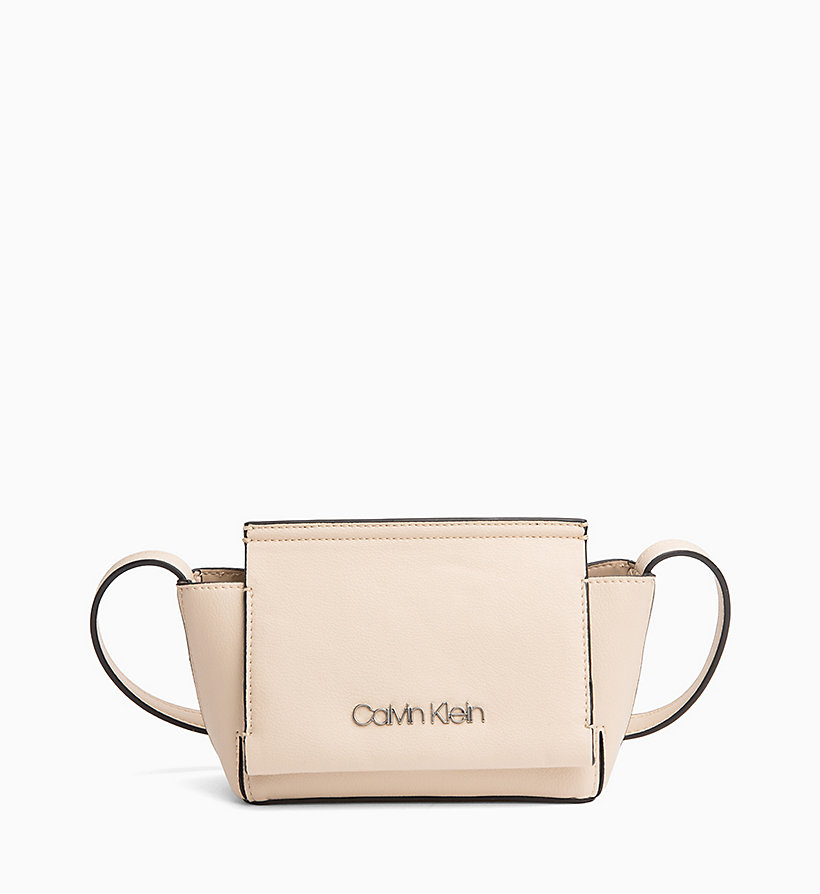 CALVIN KLEIN Flap Cross Body Bag - DUSTY BLUE - CALVIN KLEIN WOMEN - main image