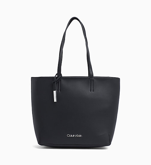 New Calvin Klein Tote Bag Black In Main Image