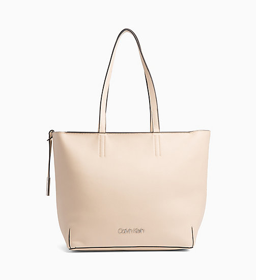 CALVIN KLEIN Tote Bag - LIGHT SAND - CALVIN KLEIN NEW IN - main image