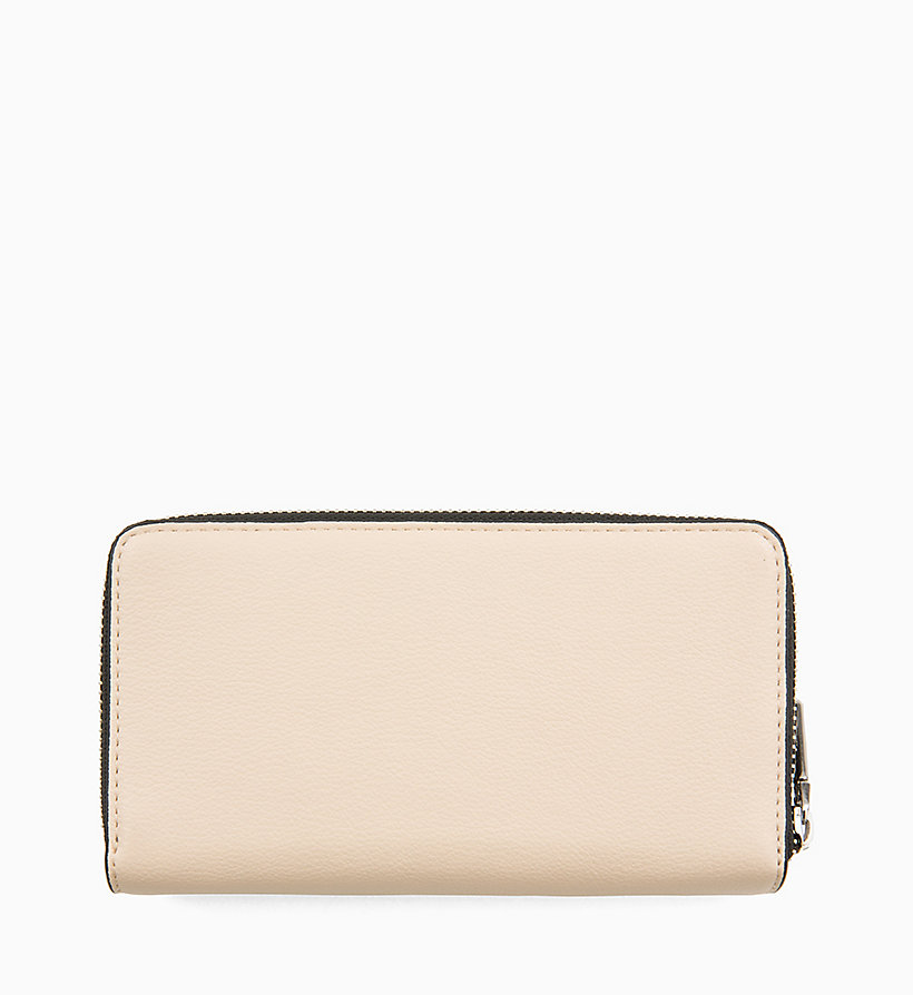 CALVIN KLEIN Double Zip-Around Wallet - BLACK - CALVIN KLEIN WOMEN - detail image 1