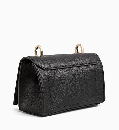 CALVINKLEIN Small Flap Cross Body Bag - BLACK - CALVIN KLEIN CROSSOVER BAGS - detail image 1