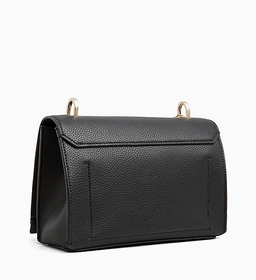CALVINKLEIN Medium Flap Cross Body Bag - BLACK - CALVIN KLEIN CROSSOVER BAGS - detail image 1