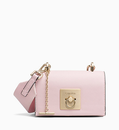 CALVINKLEIN Small Flap Cross Body Bag - PETAL - CALVIN KLEIN NEW IN - main image