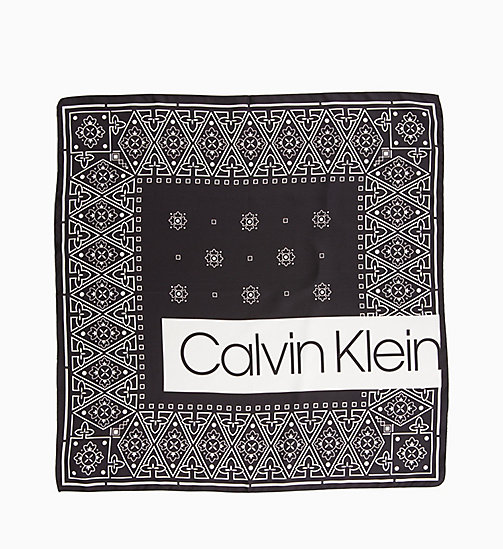 CALVINKLEIN Silk Bandana Giftbox - BLACK - CALVIN KLEIN NEW IN - detail image 1