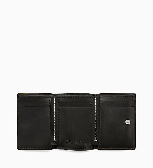 CALVIN KLEIN Small Patent Wallet - BLACK - CALVIN KLEIN NEW IN - detail image 1