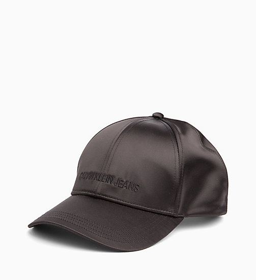 CALVIN KLEIN JEANS Satin Cap - BLACK BEAUTY - CALVIN KLEIN JEANS NEW IN - detail image 1