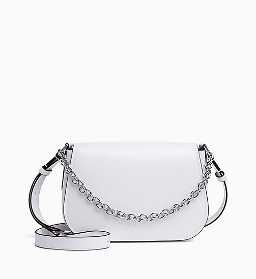 CALVIN KLEIN Cross Body Bag - BRIGHT WHITE - CALVIN KLEIN NEW IN - main image