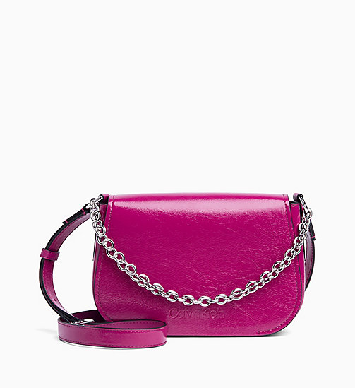 CALVIN KLEIN Cross Body Bag - MAGENTA - CALVIN KLEIN NEW IN - main image
