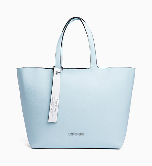 CALVIN KLEIN Tote Bag - PALE BLUE - CALVIN KLEIN NEW IN - main image