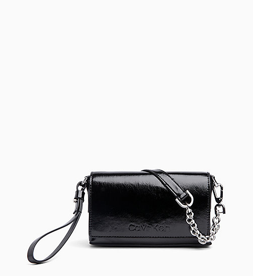 CALVIN KLEIN Cross Body Clutch - BLACK - CALVIN KLEIN NEW IN - main image