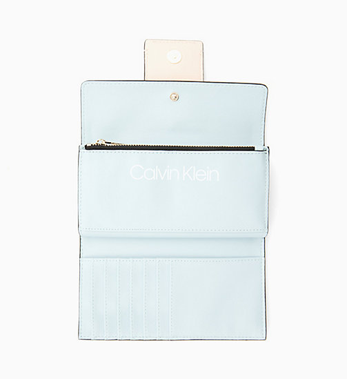 CALVIN KLEIN Large Trifold Wallet - LIGHT SAND - CALVIN KLEIN NEW IN - detail image 1