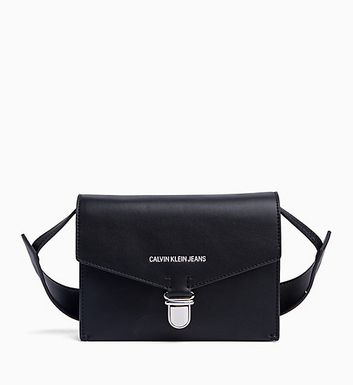 CALVIN KLEIN JEANS Envelope Shoulder Bag - BLACK - CALVIN KLEIN JEANS NEW IN - main image