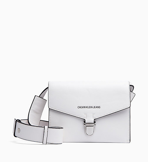 CALVIN KLEIN JEANS Envelope Shoulder Bag - BRIGHT WHITE - CALVIN KLEIN JEANS NEW IN - main image