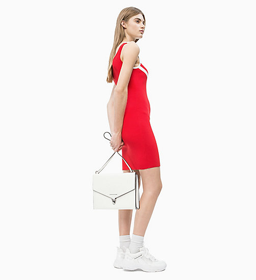 CALVIN KLEIN JEANS Envelope Shoulder Bag - BRIGHT WHITE - CALVIN KLEIN JEANS NEW IN - detail image 1