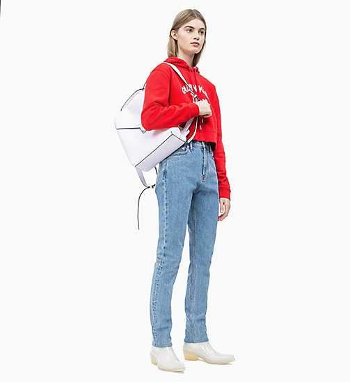 CALVIN KLEIN JEANS Flap Backpack - BRIGHT WHITE - CALVIN KLEIN JEANS NEW IN - detail image 1