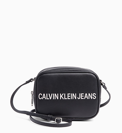 CALVIN KLEIN JEANS Logo Cross Body Bag - BLACK - CALVIN KLEIN JEANS LOGO SHOP - main image