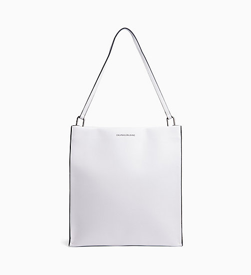 CALVIN KLEIN JEANS Tote Bag - BRIGHT WHITE - CALVIN KLEIN JEANS NEW IN - main image