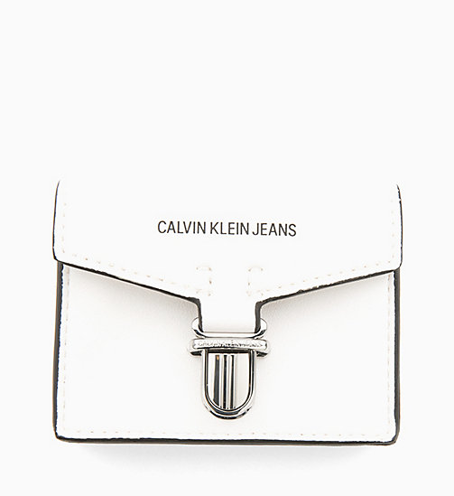CALVIN KLEIN JEANS Card Case - BRIGHT WHITE - CALVIN KLEIN JEANS NEW IN - main image