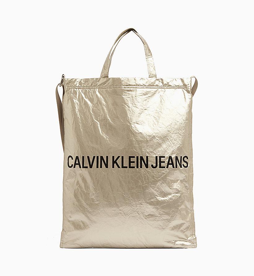 qualità affidabile materiali di alta qualità consegna veloce Borsa tote lucida da donna da donna CALVIN KLEIN ...