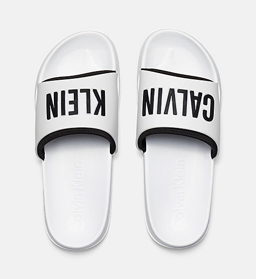 CALVINKLEIN Logo Sliders - PVH WHITE - CALVIN KLEIN ACCESSORIES - detail image 1