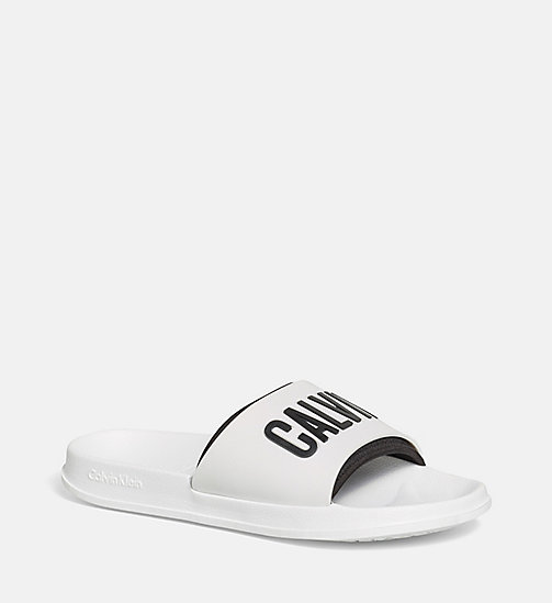 CALVINKLEIN Logo Sliders - PVH WHITE - CALVIN KLEIN ACCESSORIES - main image