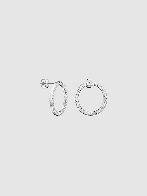 CALVINKLEIN Earrings - Calvin Klein Hook - SILVER - CALVIN KLEIN WOMEN - main image