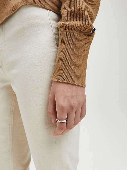 CALVINKLEIN Ring - Calvin Klein Hook - SST - CALVIN KLEIN WATCHES & JEWELLERY - detail image 1