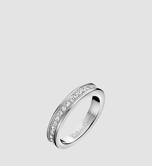 CALVIN KLEIN Ring - Calvin Klein Hook - SST - CALVIN KLEIN WATCHES & JEWELLERY - main image