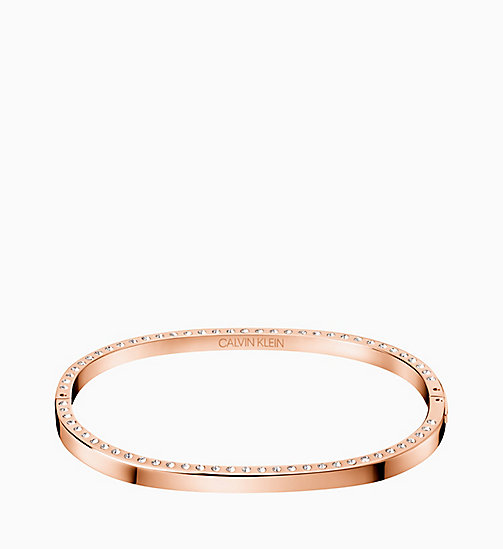 CALVIN KLEIN Closed Bangle - Calvin Klein Hook - PINK - CALVIN KLEIN WOMEN - main image