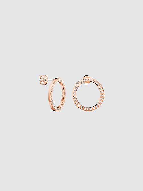 CALVIN KLEIN Earrings - Calvin Klein Hook - PINK - CALVIN KLEIN WOMEN - main image