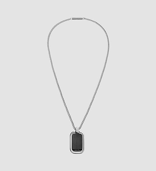 CALVINKLEIN Necklace - Calvin Klein Confidence - SST / BLACK PVD - CALVIN KLEIN WATCHES & JEWELLERY - main image