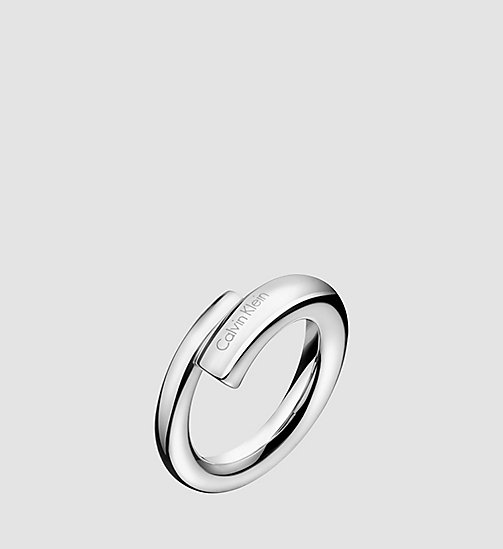 CALVINKLEIN Ring - Calvin Klein Scent - STAINLESS STEEL - CALVIN KLEIN WATCHES & JEWELLERY - main image