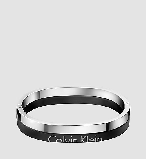 CALVINKLEIN Bangle - Calvin Klein Boost - SST/ BLK - CALVIN KLEIN WATCHES & JEWELLERY - main image