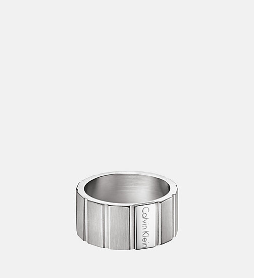 CALVINKLEIN Ring - Calvin Klein Plate - SST -  WATCHES & JEWELLERY - main image