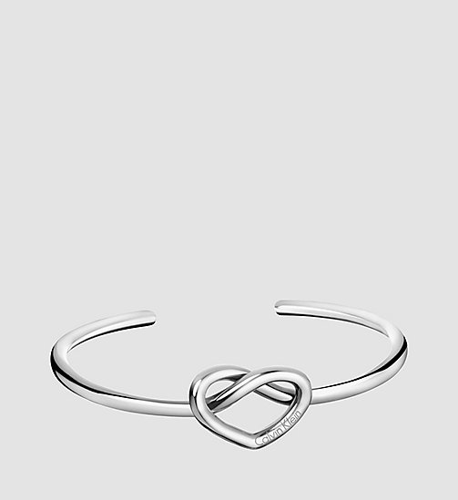 CALVINKLEIN Open Bangle - Calvin Klein Charming - SST - CALVIN KLEIN WATCHES & JEWELLERY - main image